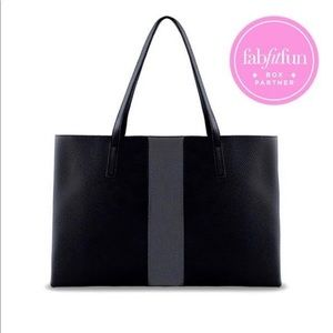 FFF Box Vince Camuto Vegan Leather Tote